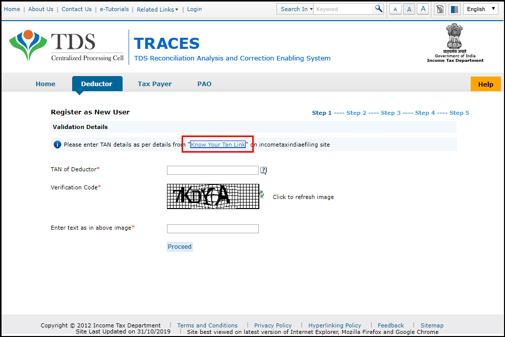 traces registration 3
