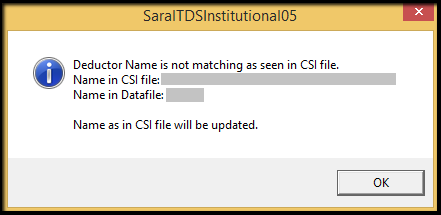 8.1.E-TDS Return Generation in Saral TDS-.csi file